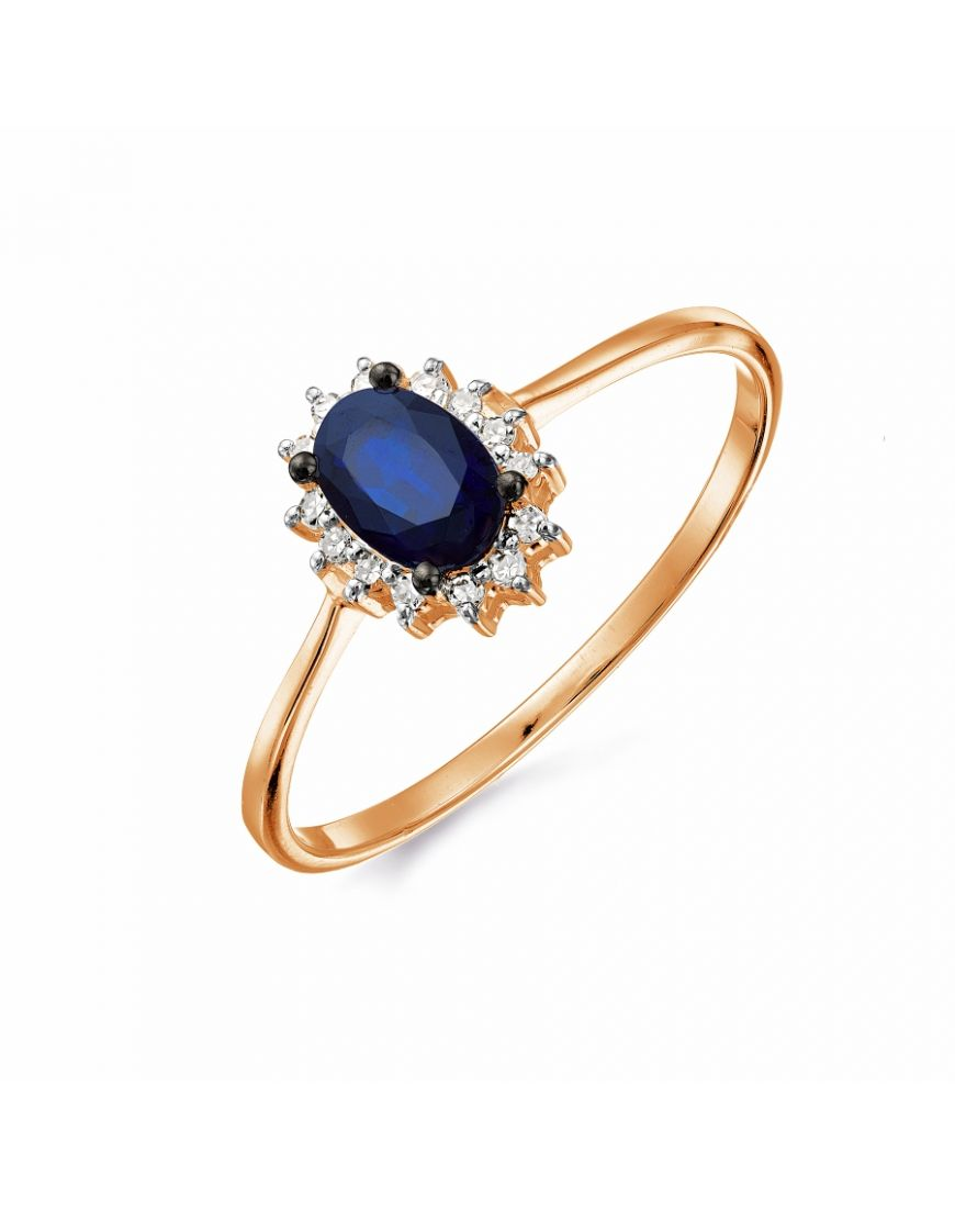 oval image rings amp yellow cluster ring diamond gold sapphire