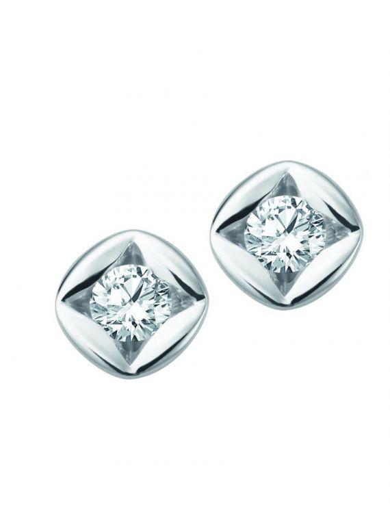 Täppkõrvarõngad teemantidega 0.20 ct