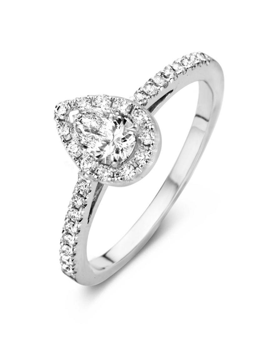 Kuldsõrmus Antonellis teemantidega
