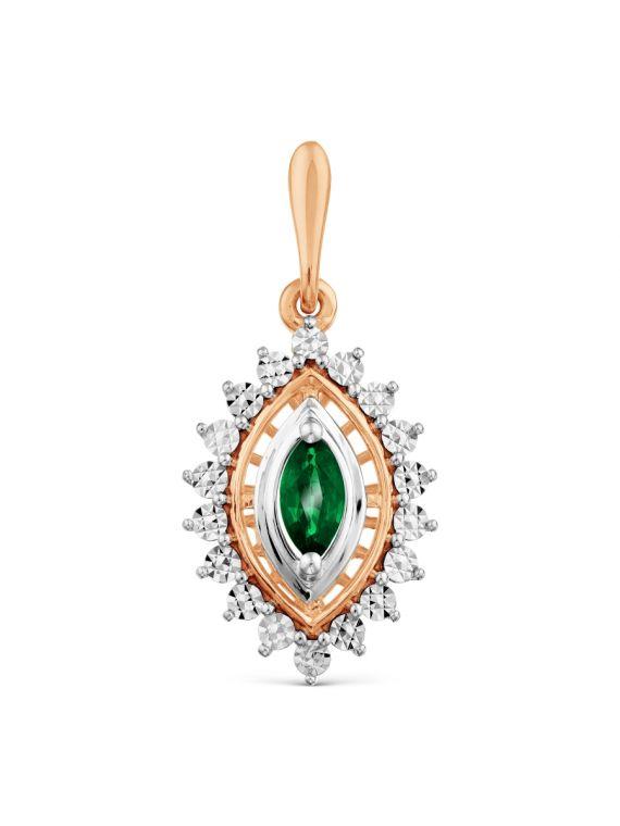 Kuldripats smaragdiga GERMAN juveel