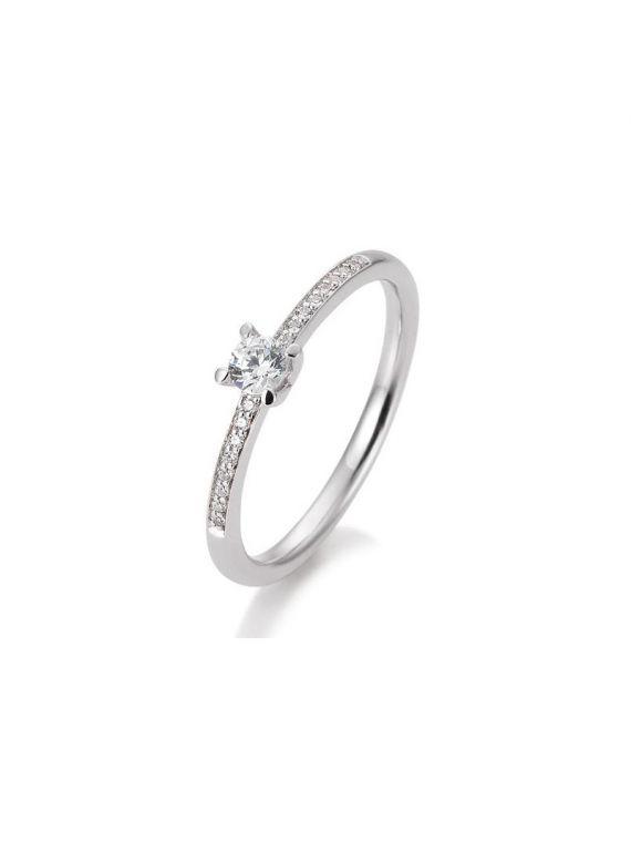 Kuldsõrmus teemantidega BREUNING 0,325Ct