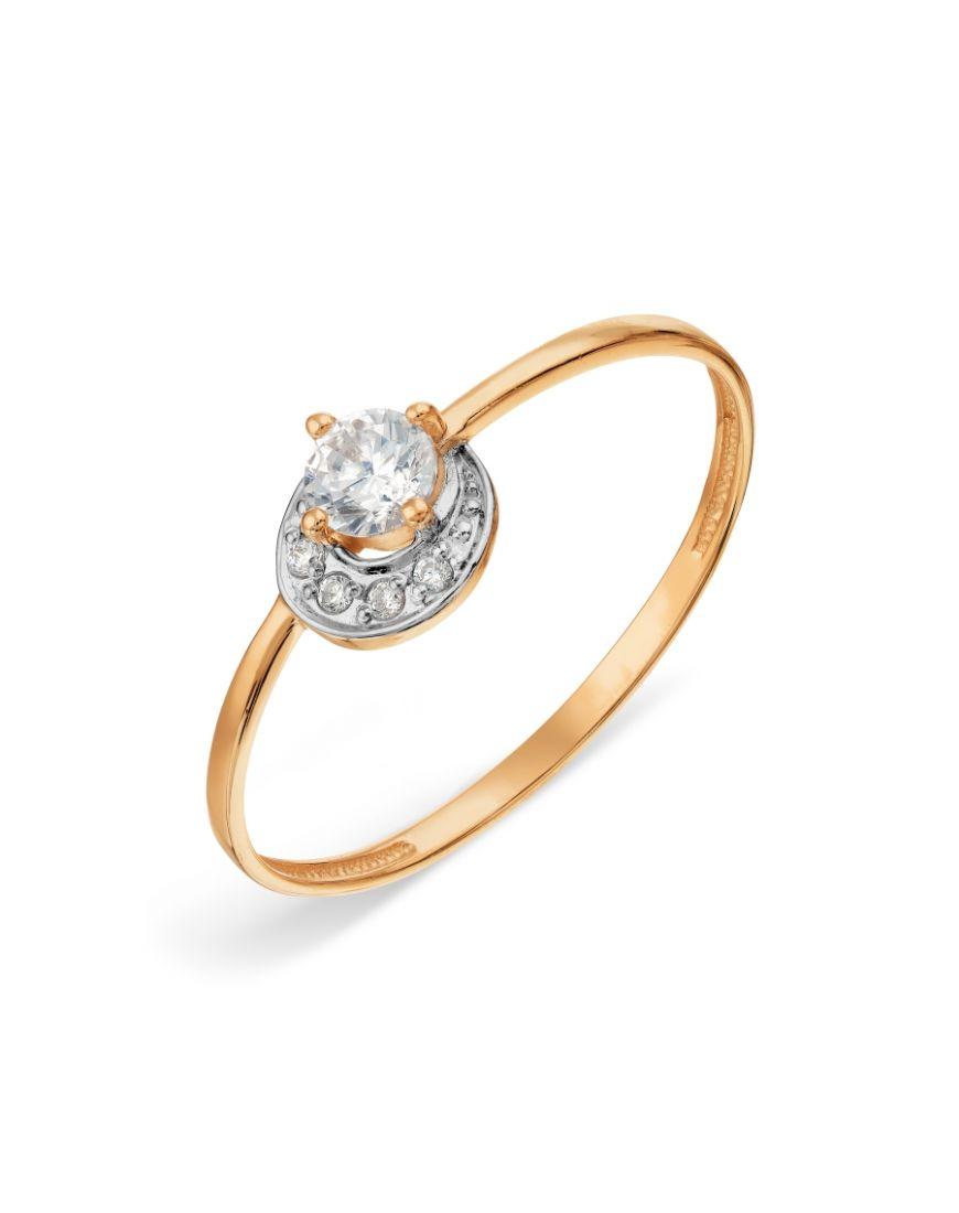 Kuldsõrmus tsirkoonidega GERMAN juveel 16.0