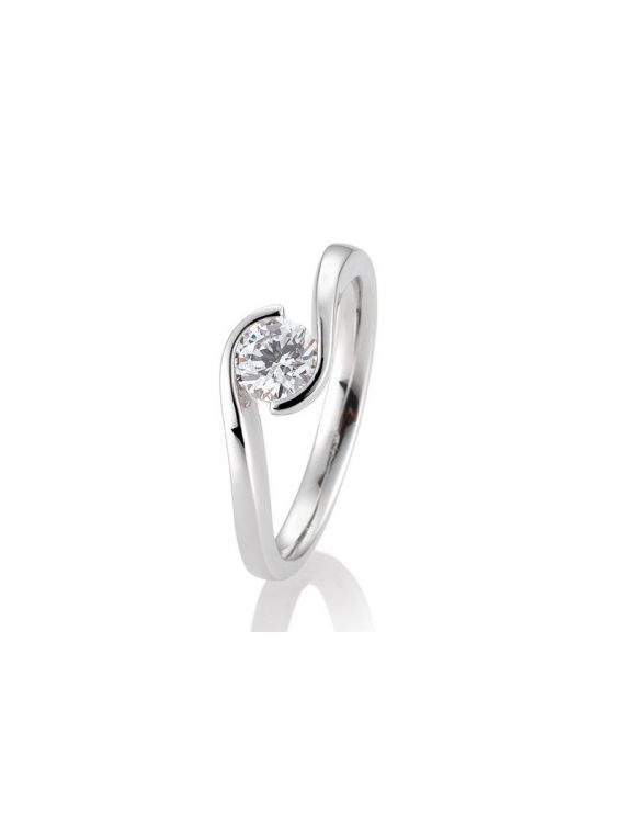 Kuldsõrmus teemantiga BREUNING 0,60Ct