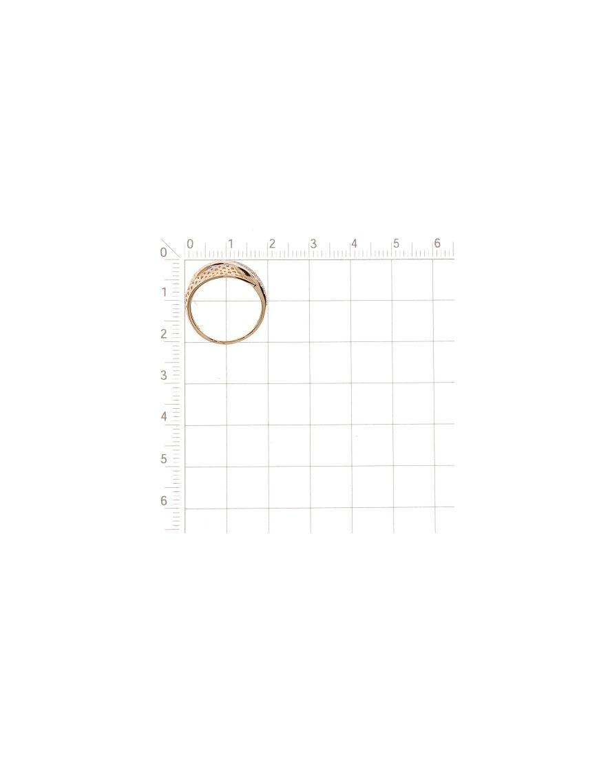 Kuldsõrmus tsirkoonidega GERMAN juveel 16.5