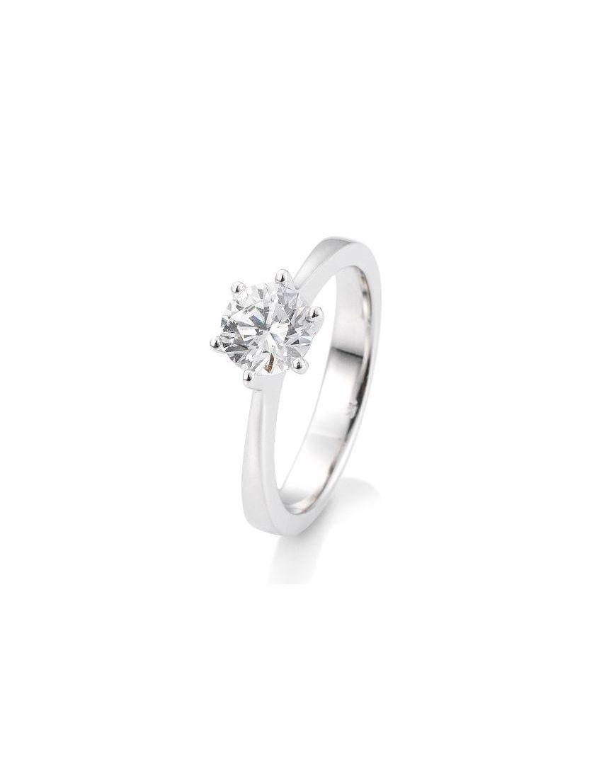 Kuldsõrmus teemantiga BREUNING 0,80Ct