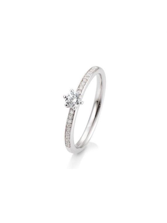 Kuldsõrmus teemantidega BREUNING 0,29Ct