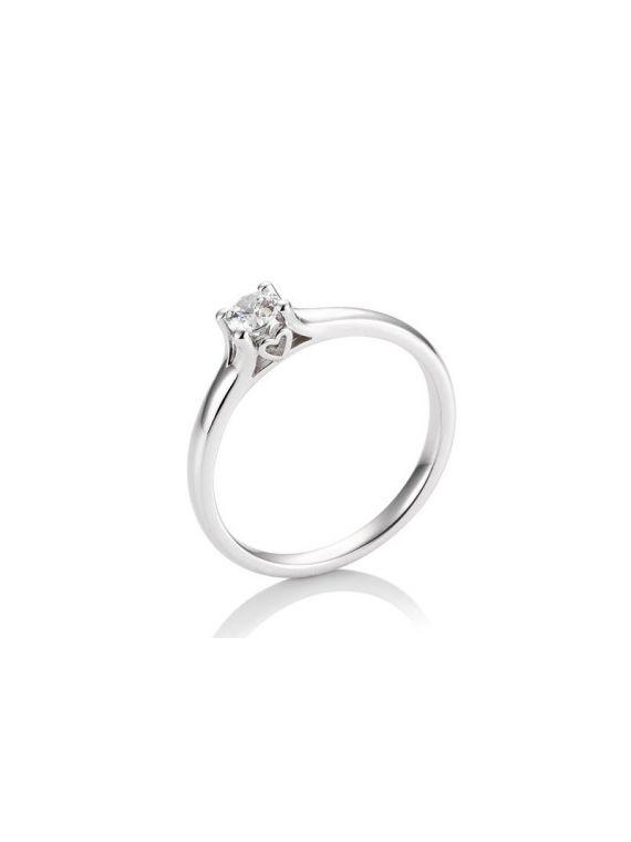 Kuldsõrmus teemantiga BREUNING 0,25Ct