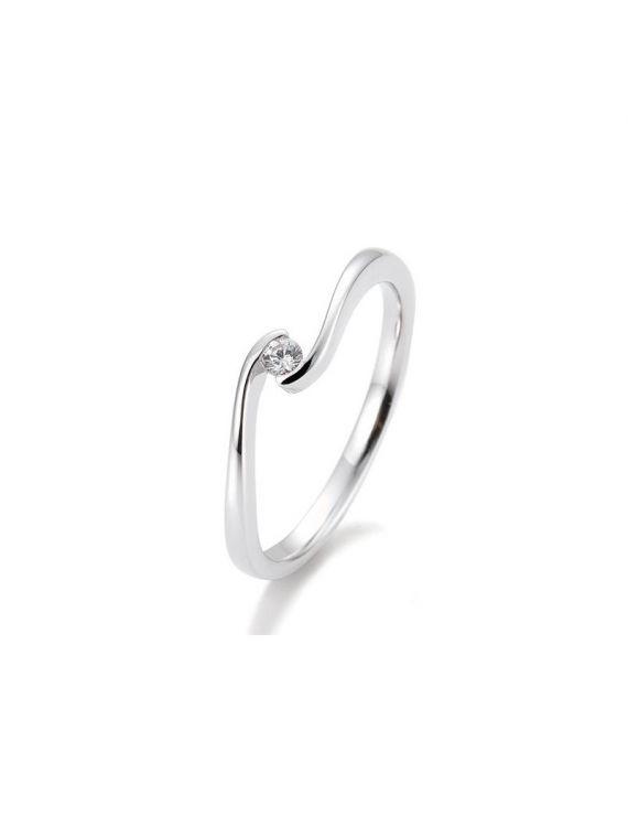 Kuldsõrmus teemantiga BREUNING 0,05Ct