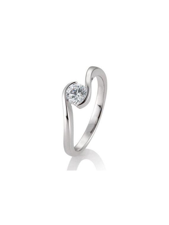 Kuldsõrmus teemantiga BREUNING 0,50Ct