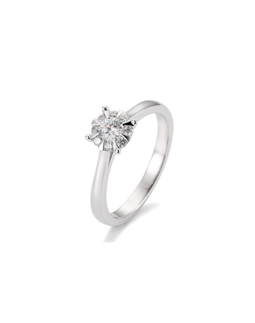 Kuldsõrmus teemantidega BREUNING