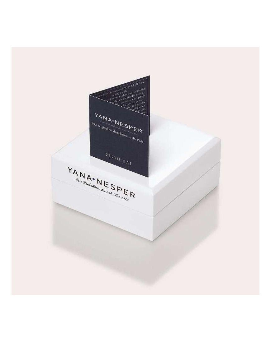 Yana Nesper 8-8,5mm Akoya pärliga kuldkõrvarõngad