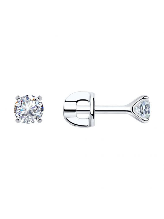 SOKOLOV Sterling Silver Cubic Zirconia Earrings