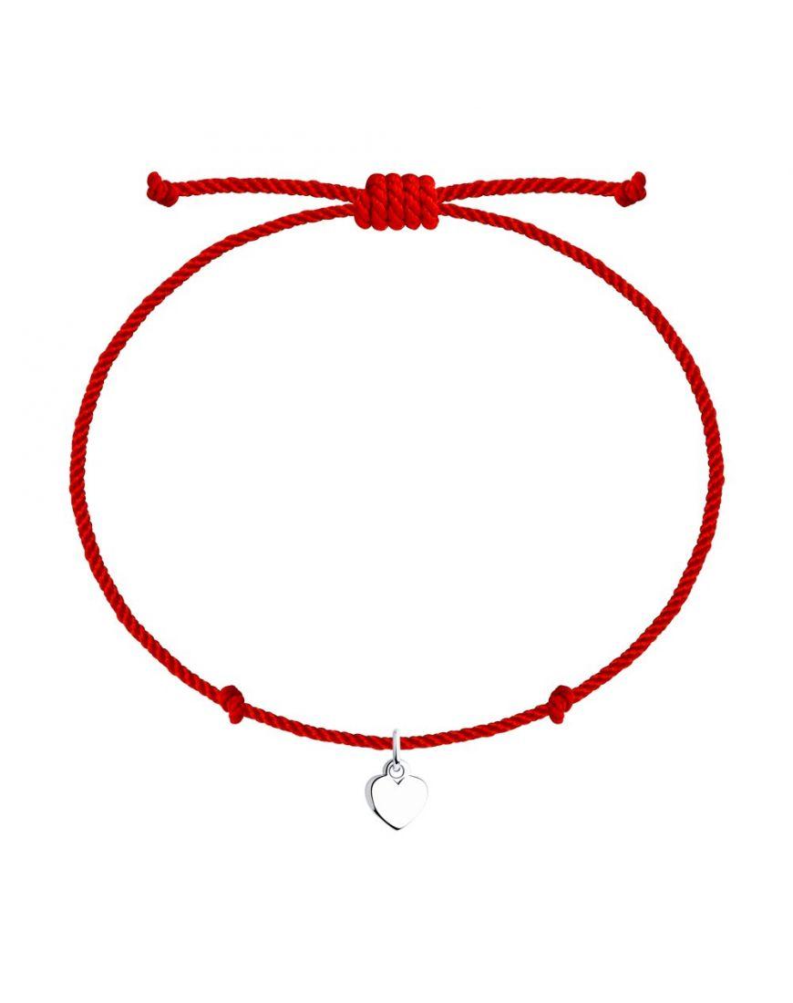 SOKOLOV Punane niit käevõru hõbe amulettiga