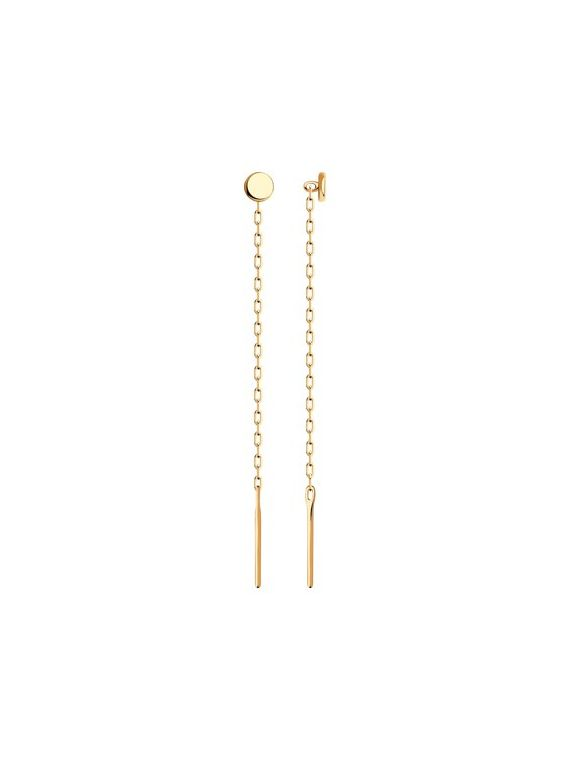 14K rose gold earrings for ladies and girls.