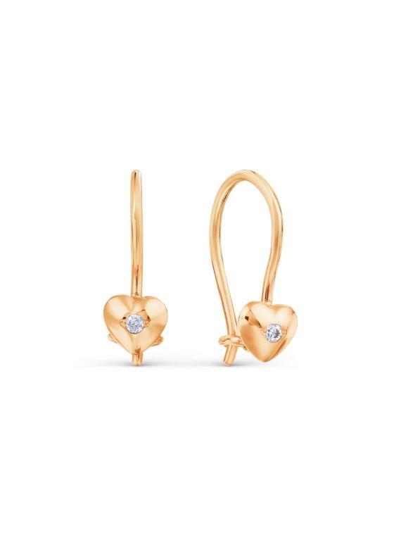 Gold Earrings for Kids