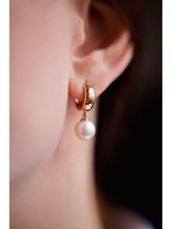 Pärlitega kõrvarõngad