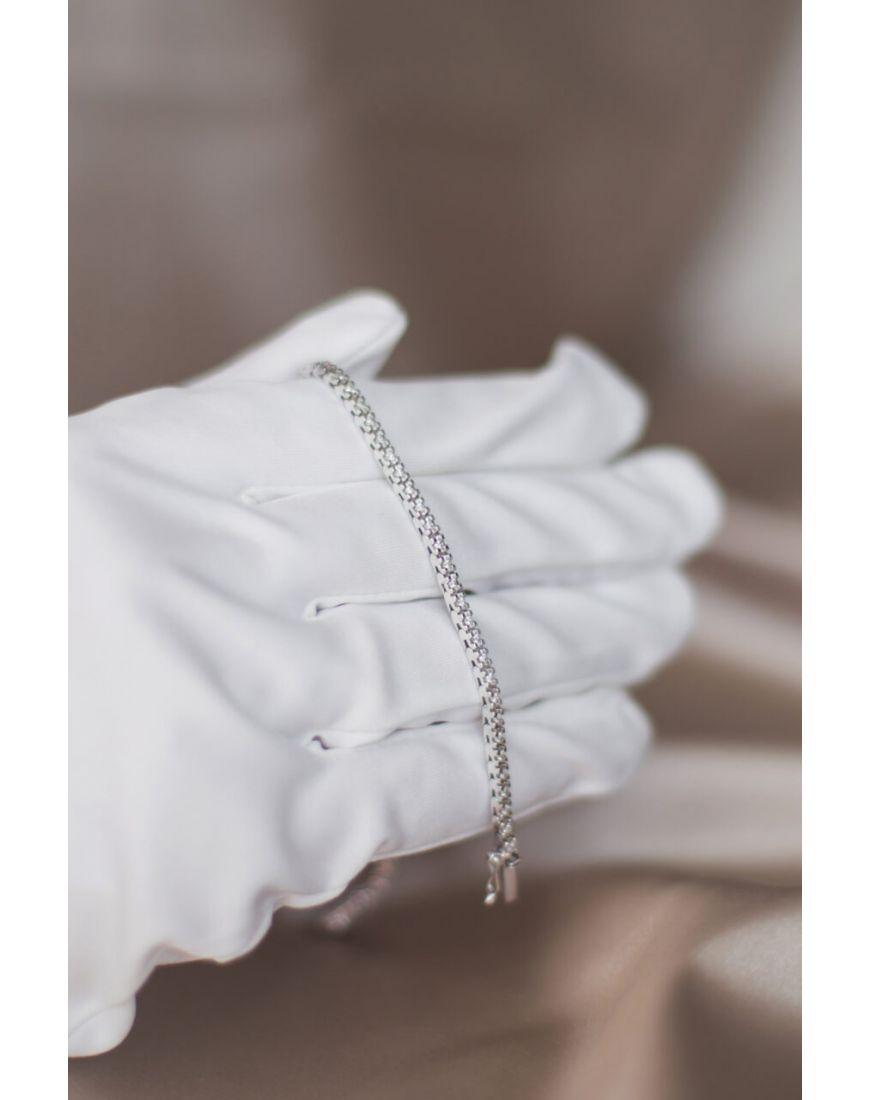 White gold Tennis diamond bracelet