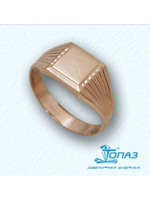 Ring for men in 14K red gold