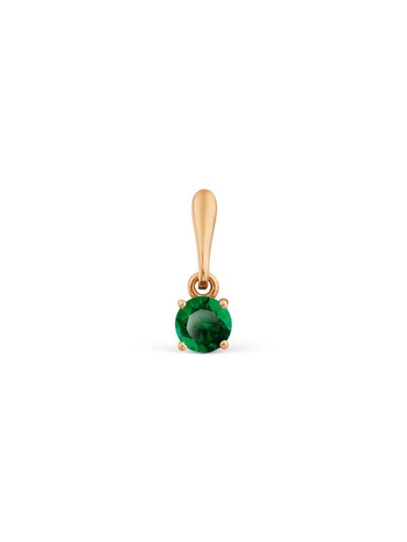 Kuldripats smaragdiga